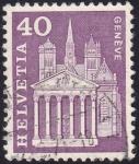 Stamps Switzerland -  Ginebra
