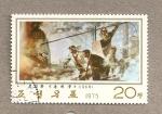 Stamps North Korea -  Trabajadores de la fundición