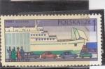 Sellos de Europa - Polonia -  PUERTO DE GDANSK