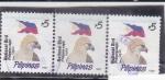 Sellos de Asia - Filipinas -  AGUILA