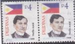 Sellos del Mundo : Asia : Filipinas : JOSE RIZAL