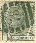 Stamps Europe - United Kingdom -  Reina Victoria