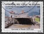 Sellos de America - Panamá -  75 años de la Apertura del Canal de Panamá