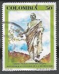 de America - Colombia -  Sesquicentenario de la muerte de Francisco de Paula Santander