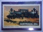 de Oceania - Australia -  Double Fairlie - Western Autralia - Ferrocarril a Vapor.