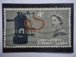 de Europa - Reino Unido -  Lister Centenary  Antiseptic Surgery - Centenario del descubrimiento de Joseph Luister de Cirugía An