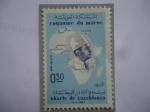 de Africa - Marruecos -  Charter de Casablanca (4/1/1961)- Aniversario de la Carta de Casablanca
