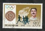de Asia - Corea del norte -  1501C - Wyndham Halswelle, atletismo