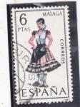 Stamps Spain -  TRAJES REGIONALES- MALAGA (46)