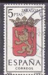 Sellos del Mundo : Europa : España : ZARAGOZA - Escudos de las capitales españolas(46)