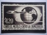 de America - México -  Avión-Globo Terráqueo - Entrega Inmediata - Entrega Especial