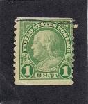 Sellos de America - Estados Unidos -  Franklin