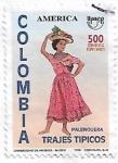 de America - Colombia -  Trajes típicos: Palenquera