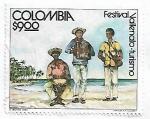 de America - Colombia -  Festival vallenato, turismo
