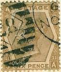 Stamps United Kingdom -  Reina Victoria