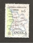 Sellos de Africa - Angola -  INTERCAMBIO