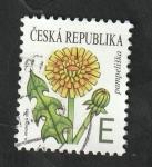 Sellos del Mundo : Europa : República_Checa : 917 - Flor, Taraxacum officinale