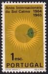 Stamps : Europe : Portugal :  Años Sol Calmo