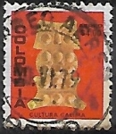 Sellos de America - Colombia -  Búho, cultura calima