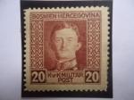 Stamps Bosnia Herzegovina -  Karl I - serie: Emperador Karl I