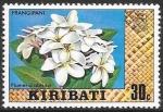 Sellos del Mundo : Oceania : Kiribati : flores