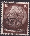 Stamps Germany -  Hindenburg
