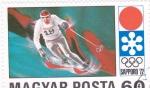 Sellos de Europa - Hungría -  OLIMPIADA SAPPORO'72