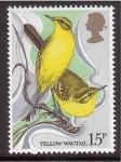 Sellos del Mundo : Europa : Reino_Unido : serie- Pájaros ingleses