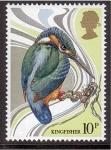 Stamps : Europe : United_Kingdom :  serie- Pájaros ingleses