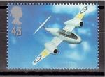 Stamps : Europe : United_Kingdom :  serie- Aviación