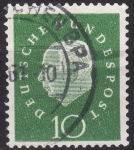 Stamps Germany -  Theodor Heuss
