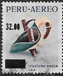 Stamps Peru -  Cerámica, cultura Nazca