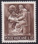Sellos de Europa - Vaticano -  La Ciencia