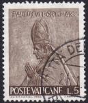 Stamps Vatican City -  Papa Pablo VI