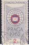 sello : Europa : Checoslovaquia : EXPOSICIÓN MUNDIAL FILATELIA  PRAGA