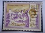 de America - Bermudas -  Bermudas Cottage. c. 1705 - Elizabeth II