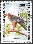 Sellos del Mundo : Africa : Camerún : aves