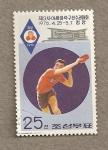 Sellos de Asia - Corea del norte -  Campeonatos asiáticos de ping-pong