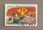 Stamps Asia - North Korea -  Partido  de los trabajadores coreanos