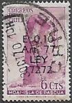 Stamps Chile -  Moai, Isla de Pascua