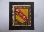 Stamps France -  Lorraine - Lorena -Escudo de Arma