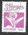 Sellos de America - Nicaragua -  1520 - Laelia Especiosa