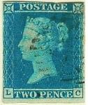 Stamps : Europe : United_Kingdom :  Reina Victoria