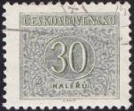 Sellos de Europa - Checoslovaquia -  cifra 30