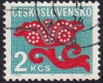 Sellos de Europa - Checoslovaquia -  ilustración flor