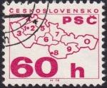 Sellos de Europa - Checoslovaquia -  códigos postales