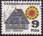 Stamps Czechoslovakia -  Turnovsko