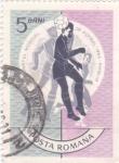 Stamps Romania -  MUNDIAL INGLATERRA 66