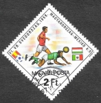 Sellos de Europa - Hungría -  2729 - Campeonato del Mundo Hungría-México (1958)