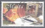 Sellos del Mundo : Europa : Malta : escritorio RESERVADO